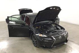 2015 Lexus IS 250 AWD F-Sport Toit Ouvrant*Cuir Rouge Chauffants*
