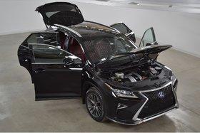 Lexus RX 450h F-Sport3 3 GPS*Mark Levinson*HUD*Cuir Rouge* 2016