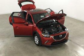 Mazda CX-3 GS 2WD GPS*Cuir*Toit*Camera Recul* 2017
