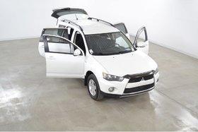 2013 Mitsubishi Outlander LS V6 AWC 7 Passagers Garantie 160 000 Km