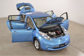 Nissan Leaf SV Quick Charge*GPS*Volant/Sieges Chauffants* 2012