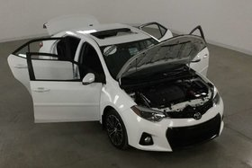 Toyota Corolla S Tech. GPS*Cuir*Toit Ouvrant*Camera Recul* 2014