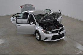 Toyota Corolla CE Bluetooth*Gr.Electrique*Climatiseur* 2016