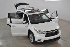 2015 Toyota Highlander hybrid Limited GPS*JBL*Cuir*Toit Pano