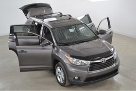 2015 Toyota Highlander Limited GPS*Cuir*Toit Ouvrant*Demarreur Distance*