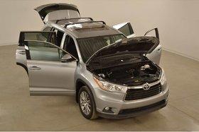 Toyota Highlander XLE 4WD GPS*Cuir*Toit*Camera Recul* PEA 140 Km 2016