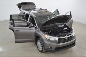 Toyota Highlander XLE 4WD GPS*Cuir*Toit*Camera Recul* 8 Passagers 2016