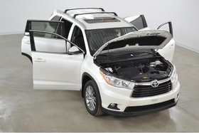 2016 Toyota Highlander XLE 4WD GPS*Cuir*Toit*Camera Recul* 8 Passagers