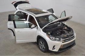 Toyota Highlander Limited GPS*Cuir Ventiles/Chauffants*Toit Pano* 2018