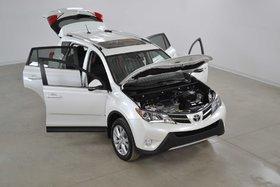 2015 Toyota RAV4 Limited 4WD GPS*Cuir*Toit*Bluetooth*Camera Recul