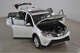 2015 Toyota RAV4 Limited 4WD GPS*Cuir*Toit*Camera Recul*