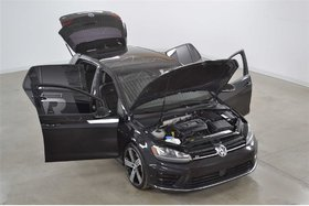 2016 Volkswagen Golf R 2.0T 4Motion Tech. Radar*GPS*Cuir*Fender* Manuelle