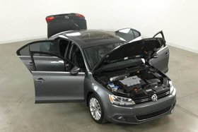 2012 Volkswagen Jetta TDi Highline GPS*Fender*Cuir*Toit Ouvrant*