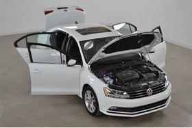 2015 Volkswagen Jetta Highline*Camera de Recul*Cuir*Toit*