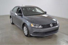 2015 Volkswagen Jetta Trendline+ Sieges Chauffants*Camera Recul*