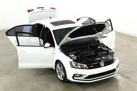 2016 Volkswagen Jetta GLI 2.0T Autobahn GPS*Cuir*Toit*Fender*