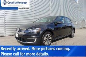2017 Volkswagen E-Golf 5-Dr Comfortline