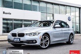 2018 BMW 330i XDrive, bluetooth, Blind Spot, Nav,