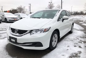 2015 Honda Civic Sedan LX CVT Trade IN. NO Accidents, LOW KMS !!