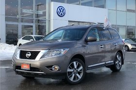 2013 Nissan Pathfinder Platinum V6 4x4 at Traded. NO Accidents !! Very Cl
