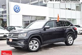 2018 Volkswagen Atlas Comfortline 2.0T 8sp at w/Tip Formal VW Compane CA