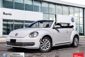 2013 Volkswagen Beetle Convertible 2.5L Comfortline; convertible; power top