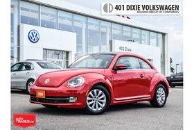 2015 Volkswagen Beetle Comfortline 1.8T 6sp at w/ Tip 1 Owner. NO Acciden