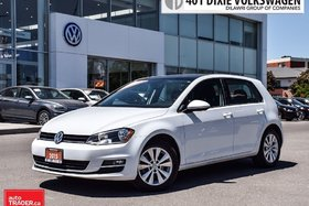 2015 Volkswagen Golf 5-Dr 1.8T Comfortline at Tip Sunroof, Back UP Came