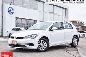 2018 Volkswagen Golf 5-Dr 1.8T Trendline 6sp at w/Tip Back UP Camera/Al