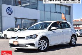 2018 Volkswagen Golf 5-Dr 1.8T Trendline 6sp at w/Tip LOW KMS/Like NEW/