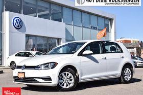 2018 Volkswagen Golf 5-Dr 1.8T Trendline 6sp at w/Tip LOW KMS/ Like NEW