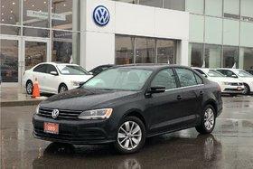 2015 Volkswagen Jetta Trendline Plus 2.0 6sp w/Tip OFF Lease, Sunroof, A