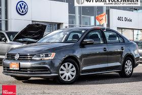 2015 Volkswagen Jetta Trendline Plus 2.0 6sp w/Tip OFF Lease. NO Acciden