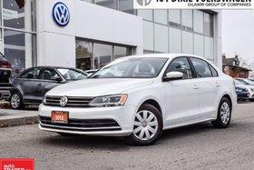 2015 Volkswagen Jetta Trendline Plus 2.0 6sp w/Tip OFF Lease, Back UP Ca