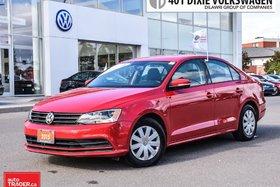 2015 Volkswagen Jetta Trendline Plus 2.0 6sp w/Tip NO Accidents!! Clean