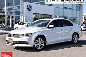 2015 Volkswagen Jetta Trendline Plus 2.0 6sp w/Tip OFF Lease . NO Accide