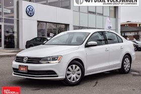 2015 Volkswagen Jetta Trendline Plus 2.0 6sp w/Tip OFF Lease. Back UP Ca