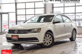 2015 Volkswagen Jetta Trendline Plus 2.0 6sp w/Tip OFF Lease. NO Acciden