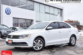 2015 Volkswagen Jetta Trendline Plus 2.0 6sp w/Tip Back UP Camera/Power