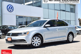 2015 Volkswagen Jetta Trendline Plus 2.0 6sp w/Tip OFF Lease/NO Accident