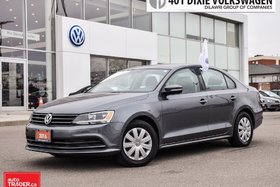 2016 Volkswagen Jetta Trendline Plus 1.4T 6sp at w/Tip Traded. LOW KMS !