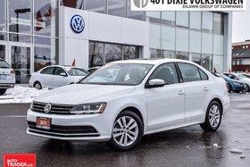 2017 Volkswagen Jetta Wolfsburg Edition 1.4T 6sp at w/Tip LOW KMS . NO A