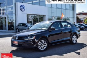 2017 Volkswagen Jetta Wolfsburg Edition 1.4T 6sp at w/Tip LOW KMS !! Lik