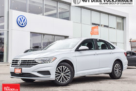 2019 Volkswagen Jetta Highline 1.4T 8sp w/Tip LowkmS.Like NEW/ Leather/R