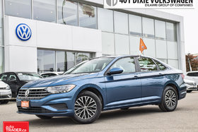 2019 Volkswagen Jetta Highline 1.4T 8sp w/Tip Leather/Power Roof/Back UP