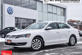 2015 Volkswagen Passat Trendline 1.8T 6sp at w/ Tip OFF Lease. NO Acciden
