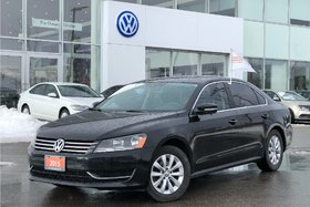 2015 Volkswagen Passat Trendline 1.8T 6sp at w/ Tip OFF Lease, NO Acciden