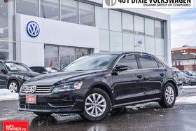 2015 Volkswagen Passat Trendline 1.8T 6sp at w/ Tip OFF Lease, NO Acciden