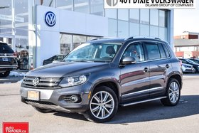 2015 Volkswagen Tiguan Highline 6sp at Tip 4M OFF Lease. Navigation, NO A