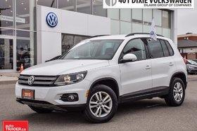2015 Volkswagen Tiguan Trendline 6sp at Tip OFF Lease . Extra Clean !